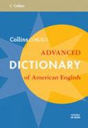 Collins Cobuild Advanced Dictionary