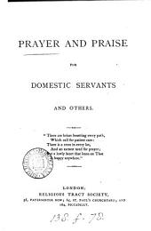Prayer and praise for domestic servants and others