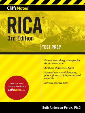 CliffsNotes RICA 3rd Edition