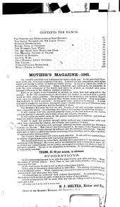 The Mother's Magazine and Family Circle: Volume 29, Issue 3