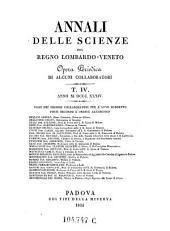 Annali Delle Scienze Del Regno Lombardo-Veneto Opera Periodica Di Alcuni Collaborati: Volume 23