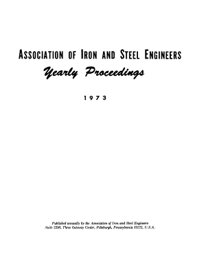 Yearly Proceedings Association Of Iron And Steel Engineers