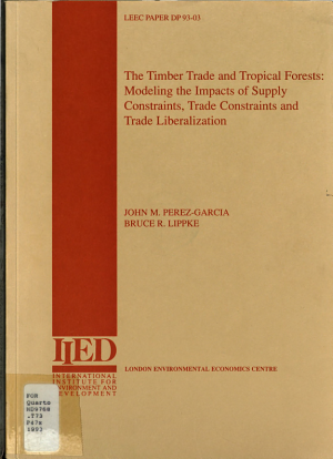 The Timber Trade and Tropical Forests