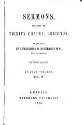 Sermons: Volume 4