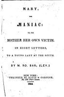 Mary  the Maniac PDF