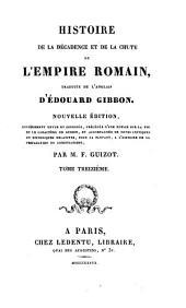 Histoire de la décadence et de la chute de l'empire Romain: Volume13
