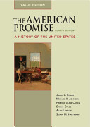 The American Promise Value Edition  Combined Version  Volumes I   II  PDF