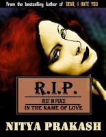 R  I  P  in the Name of Love PDF