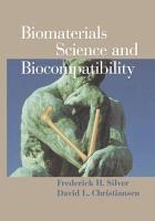 Biomaterials Science and Biocompatibility PDF