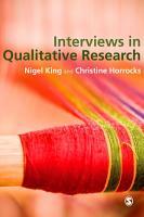 Interviews in Qualitative Research PDF