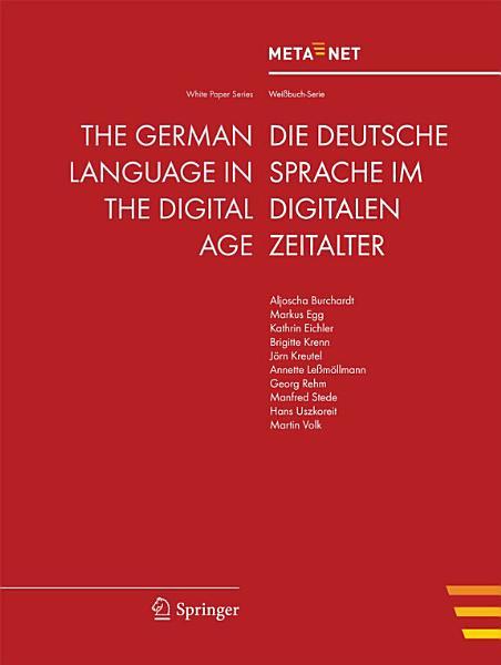 The German Language in the Digital Age PDF