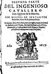 El ingenioso hidalgo Don Quixote: Volumen 2