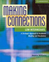 Making Connections Low Intermediate Student s Book PDF