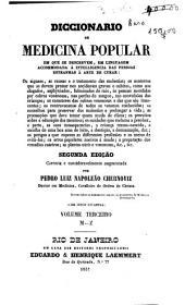 Diccionario de medicina popular: M-Z