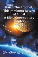 Isaiah The Prophet The Imminent Return of Christ PDF