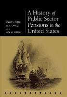 A History of Public Sector Pensions in the United States PDF