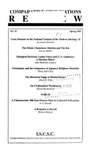 Comparative Civilizations Review