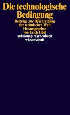 Die technologische Bedingung PDF