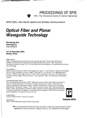 Optical Fiber and Planar Waveguide Technology