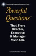 Powerful Questions that Every Director, Executive and Manager Must Ask