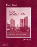 Student Study Guide for Cost Accounting
