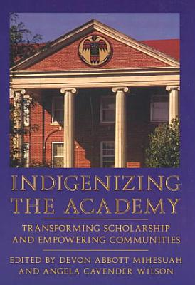 Indigenizing the Academy PDF