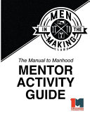 The Manual to Manhood Mentor Activity Guide Book