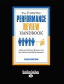 Essential Performance Review Handbook