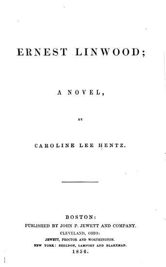 Ernest Linwood PDF