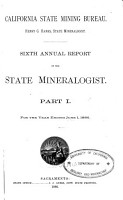 Annual Report of the State Mineralogist for the Year Ending     PDF