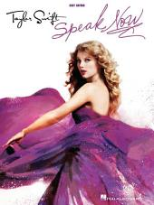 Taylor Swift - Speak Now (Songbook): Easy Guitar with Notes & Tab