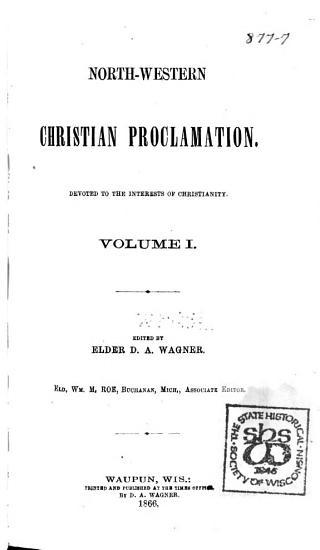 North western Christian Proclamation PDF