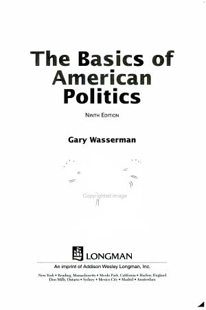 The Basics of American Politics PDF