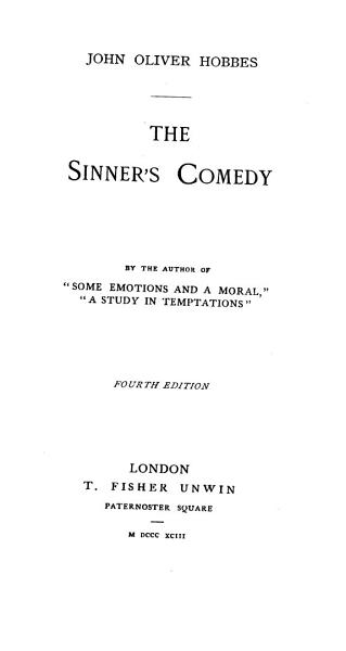 Download The Sinner s Comedy Book
