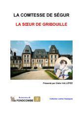 La sœur de Gribouille