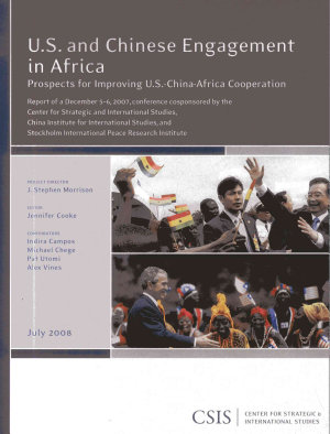 U S  and Chinese Engagement in Africa PDF