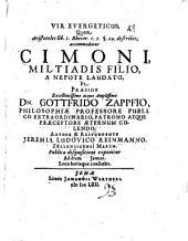 Vir euergeticus, quem Aristoteles lib. 1. Rhetor. c. 5. §. 24. describit, accommodatur Cimoni, Miltiadis filio, a Nepote laudato