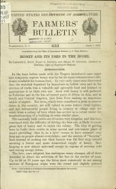 Honey and its uses in the home