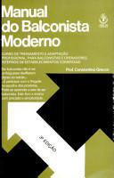 Manual Do Balconista Moderno PDF