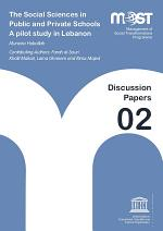 High school perceptions of the social sciences in Beirut: a pilot study