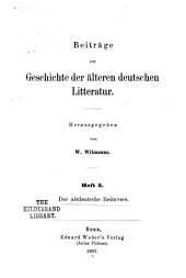 Der altdeutsche Reimvers