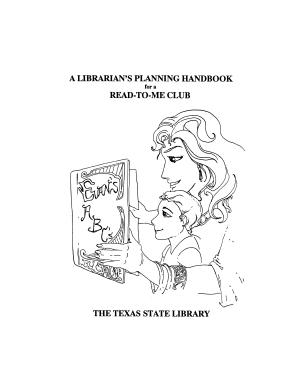 A Librarian s Planning Handbook for a Read To Me Club PDF