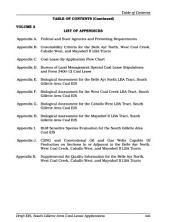 South Gillette Area Coal Lease Applications, Campbell County: Environmental Impact Statement, Volume 1