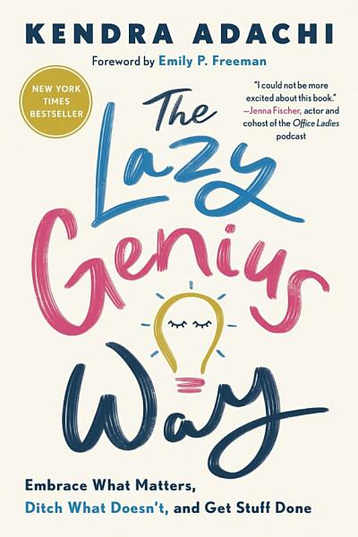 Download The Lazy Genius Way Book