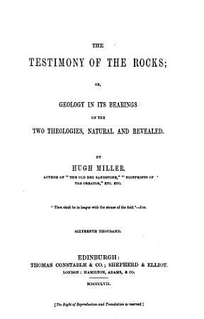 The Testimony of the Rocks PDF