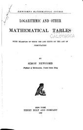 Elements of Plane and Spherical Trigonometry with Logarithmic and Other Mathematical Tables and Examples of Their Use and Hints on the Art of Computation: Volume 2
