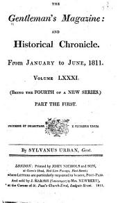 The Gentleman's Magazine: 1811, Volume 81, Part 1