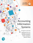 Accounting Information Systems Global Edition
