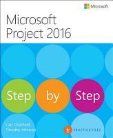 Microsoft Project 2016 Step by Step PDF