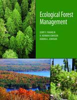 Ecological Forest Management PDF